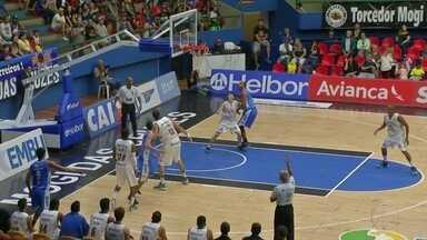Macaé Basquete vence terceira partida no NBB - Resultado foi decidido na prorrogação contra o Mogi das Cruzes.
