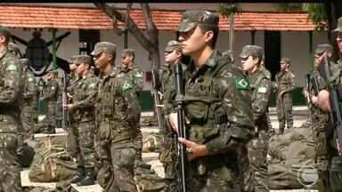 Piauí envia cerca de 150 militares do Exército para atuar na segurança em Natal - Piauí envia cerca de 150 militares do Exército para atuar na segurança em Natal