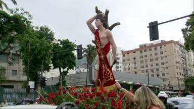 Dia de São Sebastião é marcado por devoção e muita fé - Dia de São Sebastião é marcado por devoção e muita fé.