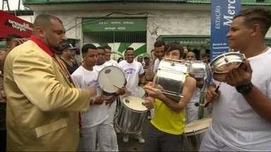 Confira os novos ritmistas da escola de samba Acadêmicos do RJ - Confira os novos ritmistas da escola de samba Acadêmicos do RJ. O mestre Thiago Diogo, da bateria Invocada, da Grande Rio, cutiu os ritmistas.