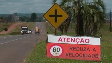 Aumenta número de acidentes com mortes no Paraná - Na região de Guarapuava 25 pessoas morreram nem acidentes no ano passado.