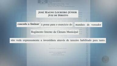 Mesmo preso, vereador toma posse de cargo em Miguelópolis - João Tadeu é investigado por fraude e conseguiu ser reeleito em 2016.