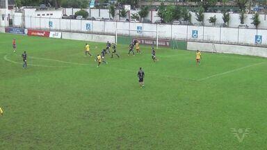 Portuguesa Santista faz jogo treino com combinado de Guarujá - Briosa venceu Guarujá por 3 a 1.