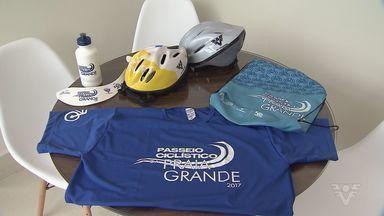 Kits para Passeio Ciclístico de Praia Grande são distribuídos - Evento ocorre no próximo domingo.
