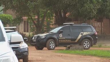 Operação revela que PF foi alvo de furto em Guajará-Mirim, RO - Quadrilha furtou cinco motos do pátio da PF na cidade, em dezembro.