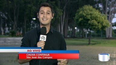 Chuva deve continuar nos próximos dias no Vale do Paraíba e região - Tempo deve seguir ruim até pelo menos sexta.