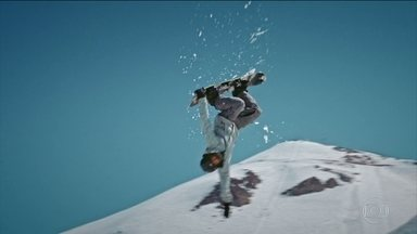 Choque térmico: Atletas de sandboard seguem na briga pela vaga no Brasileiro de snowboard - No episódio desta semana, Hudson foi eliminado e final fica entre Netinho e Clenílson