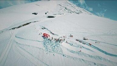 Choque Térmico apresenta cearenses que saíram das dunas de areia para o snowboard - Choque Térmico apresenta cearenses que saíram das dunas de areia para o snowboard