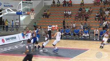 Time de basquete do Vitória enfrenta o líder Brasília pelo NBB - Na rodada passada, o Vitória perdeu para o Pinheiros e caiu da terceira para a sexta posição.