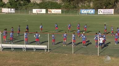 Bahia enfrenta o Jacuipense nesta quarta (1) pelo Baianão - O comentarista Gustavo Castellucci fala sobre a partida.