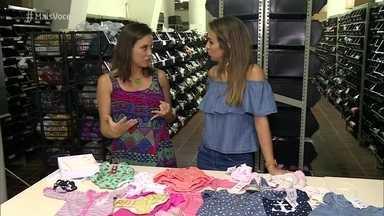 Conheça a ideia do brechó de roupas infantis - Roupas usadas passam por avaliação e ficam disponíveis para outros clientes