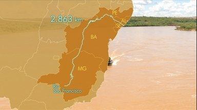 Rio São Francisco guarda belezas e muitos problemas - O São Francisco é o maior rio brasileiro inteiramente nacional. A bacia supera o tamanho da maioria dos países europeus. Por causa da degradação, o rio não produz peixe, nem irriga como antes. Conheça as inúmeras causas do empobrecimento do rio.