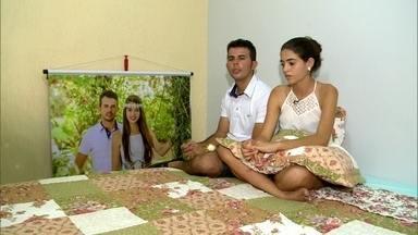 'Fiquei sem ação', diz noivo que teve casamento interrompido por tiros - O casamento aconteceu no interior de Alagoas. Os noivos contaram ao Fantástico os momentos de horror que viveram durante a cerimônia.