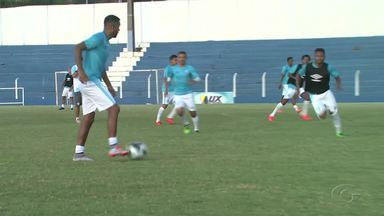 CSA se prepara para enfrentar o Sport pela Copa Brasil - Partida acontece na noite desta quarta-feira (8).