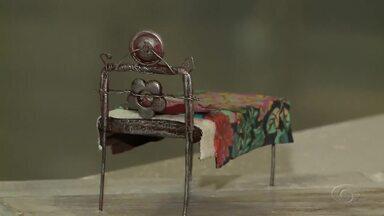 Exposição sobre camas é realizada no Complexo Cultural Teatro Deodoro - Mostra se encerrará dia 27 de março.
