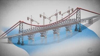Veja como vão funcionar as etapas do processo de restauração da Ponte Hercílio Luz - Veja como vão funcionar as etapas do processo de restauração da Ponte Hercílio Luz