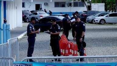 Apesar de manifestação, movimento dos policiais é normal em Macaé, no RJ - Policiais estão trabalhando normalmente.