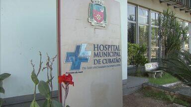 Prefeito Ademário faz vistoria no Hospital Municipal de Cubatão - Local foi fechado nesta quinta-feira. Ademário encontrou o hospital em péssimas condições.