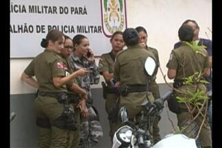 Em Altamira, mulheres de praças da PMs bloqueiam acesso ao 16º Batalhão da Polícia Militar - Protesto segue pelo segundo dia no município.