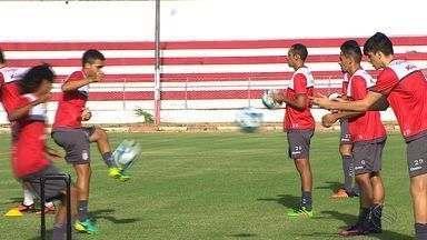 Nordestão: Sergipe treina focado em jogo decisivo em casa contra o Botafogo-PB - Nordestão: Sergipe treina focado em jogo decisivo em casa contra o Botafogo-PB