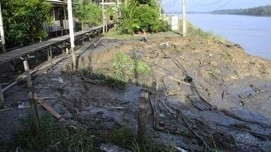 Macapá decreta situação de emergência no arquipélago do Bailique - Prefeitura quer remanejar famílias que correm perigo no arquipélago.
