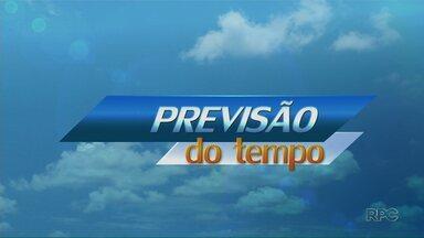 Sábado deve ter sol na região de Maringá - Na cidade, temperatura deve chegar aos 33 ºC.