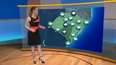 Tempo: final de semana será de chuva no RS - Prisão de chuva para todo o estado.