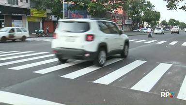 Prefeitura começa a sinalizar a Avenida Morangueira - Via está passando por reformas e também deve ganhar nova semaforização.