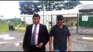É solto o vereador preso por tráfico de trogas um dia depois de ser eleito - Messias Aguiar saiu da unidade prisional na manhã desta sexta-feira (10).