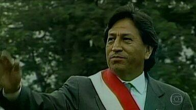 Peru pede à Interpol para prender ex-presidente acusado de receber propina da Odebrecht - Alejandro Toledo governou o país entre 2001 e 2006 e é acusado de ter recebido o equivalente a R$ 63 milhões da Odebrecht para favorecer a empresa em uma licitação.para construir uma estrada.
