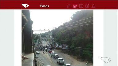 Criminosos tentam assaltar pessoa no bairro KM 90, em Cachoeiro de Itapemirim, no ES - Homens chegaram a parar um carro.