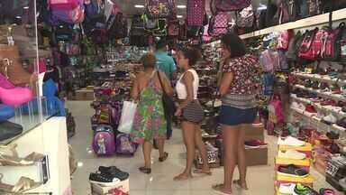 Economia do ES têm prejuízo após caos na insegurança no ES - Várias lojas foram saqueadas ou ficaram sem funcionar.