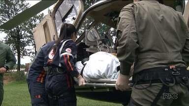 Helicóptero do Samu garante agilidade no atendimento de pacientes - Desde que Londrina e Maringá passaram a ter o serviço mais de 150 vidas já foram salvas na região.