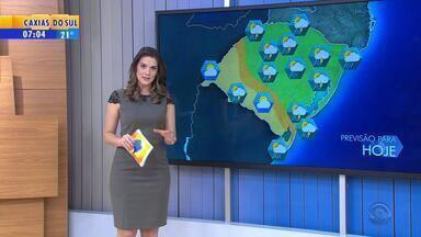 Tempo: pancadas de chuva isoladas podem cair nesta quarta-feira no RS - Sensação de abafamento predomina mesmo assim.