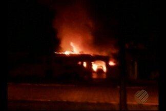 Polícia investiga incêndio no fórum de Concórdia do Pará - Prédio foi atingido por incêndio no domingo.