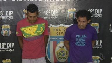 Dupla é presa suspeita de sequestrar e torturar homem, em Manaus - Outras nove pessoas estão envolvidas no caso.