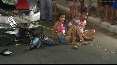 Casal é preso após tentar escapar da polícia, numa das principais avenidas de João Pessoa - A dupla foi perseguida, ontem à noite na Av. Epitácio Pessoa.