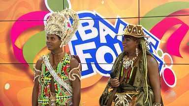 Bahia Folia: conheça o 'Negro e a Negra Malê 2017' - Alex Santana e Dayse Barreto são os representantes do bloco Malê Debalê deste ano.