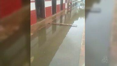 Em razão da cheia, Governo reconhece situação de emergência de Ipixuna no AM - Município sofre a com subida do nível do rio.
