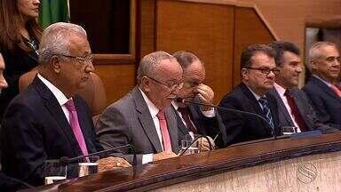 Alese começou o ano legislativo desfalcada - Três cadeiras estão vazias.