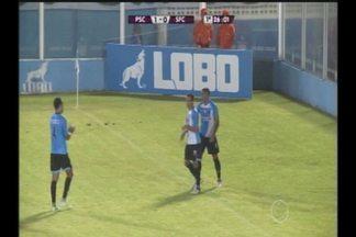 GOL DO PAYSANDU! Leandro Carvalho rola para Bergson, que só empurra para o fundo das redes - Paysandu x São Francisco, 3ª rodada do Campeonato Paraense de 2017