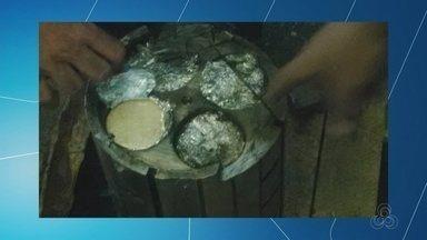 Polícia Federal faz operação no AM contra tráfico internacional de drogas - Ao todo, 150 kg de drogas foram apreendidos.