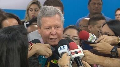 Prefeito de Manaus revela estar com câncer - Anúncio foi feito durante coletiva nesta quinta-feira (16).
