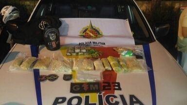 Polícia Militar apreende uma das maiores quantidades de drogas sintéticas do DF - A equipe da inteligência da Polícia Militar apreendeu nesta quinta-feira (16) em Ceilândia uma das maiores quantidades de drogas sintéticas no DF este ano.