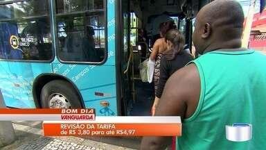 Empresas de ônibus querem tarifa de ônibus de até R$ 4,97 em São José - Prefeitura vai estudar pedido; mas não confirma que vai autorizar reajuste.