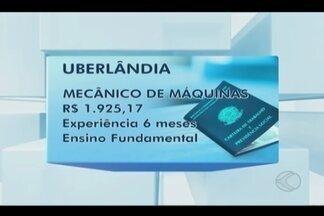 Confira as vagas de emprego disponíveis no Sine de Uberlândia - Salários variam de R$ 1.080 a R$ 1.925.