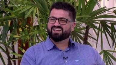 Rodrigo explica os problemas que o levaram a atrasar em duas provas - Participante perdeu pontos por não ter cumprido o tempo limite