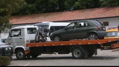 Bom Dia Paraíba dá dicas para quem tem o carro apreendido - Deve ser feito um 'check-list' de tudo que tem no carro.