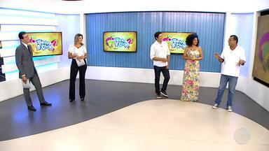 Bahia Folia: Jony Torres, Marrom e Juliana contam as novidades do carnaval - Confira.