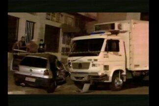 Morte por acidente de trânsito em Santa Rosa, RS, nesta madrugada - Guilherme Henrique dos Santos de 22 anos colidiu em um caminhão.